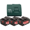 ����������� Metabo Metabo Basic-Set�5.2,�3�5.2��, 18� + �� ASC 30-36