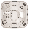 ��� ������� Jacuzzi Premium J 575 231x231x107 �� ���� Sandstone ������� Silver Wood � Bluewave Stereo System