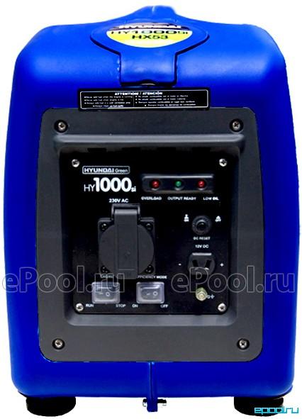 Генератор бензиновый инверторный hyundai hy5600sei генератор