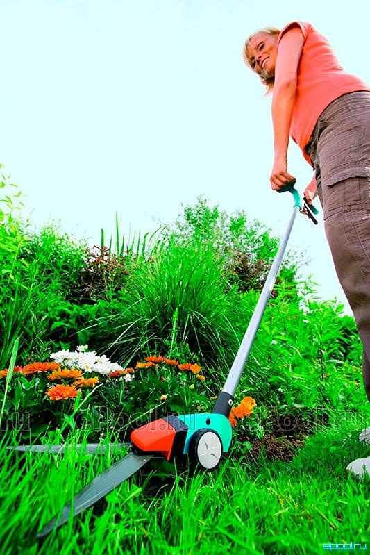 Механические ножницы для стрижки травы gardena
