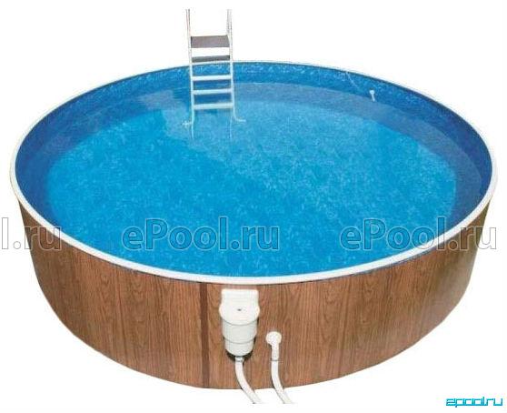 Бассейн для дачи вкапываемый своими руками