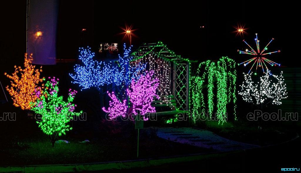 Светодиодные деревья для улицы