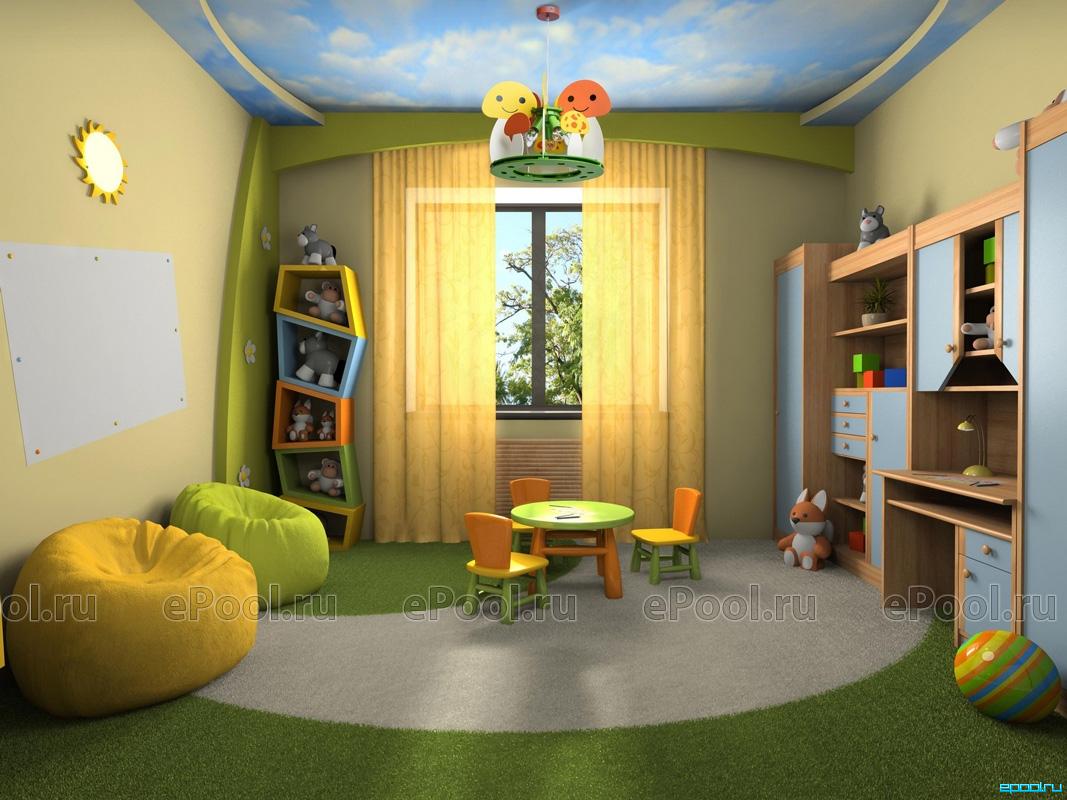 Ремонт детских дизайн