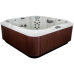 ��� ������� Jacuzzi Premium J 385 231x231x97 �� ���� Midnight ���������� Roasted Chesnut