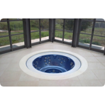 ���������� ��� ������� Jacuzzi Professional Alimia Experience 237x98 �� ���� Cobalt ��� ����������� ����