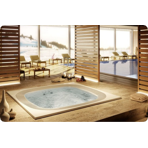 ���������� ��� ������� Jacuzzi Professional Enjoy 250x250x98 �� ���� White � ���������� �����