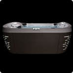 ��� ������� Jacuzzi Premium J 575 231x231x107 �� ���� Porcelain ������� Roasted Chesnut � Bluewave Stereo System