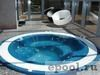 Встраиваемые коммерческие переливные гидромассажные ванны.